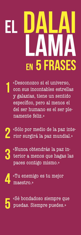 El Dalai Lama en 5 frases | Frases
