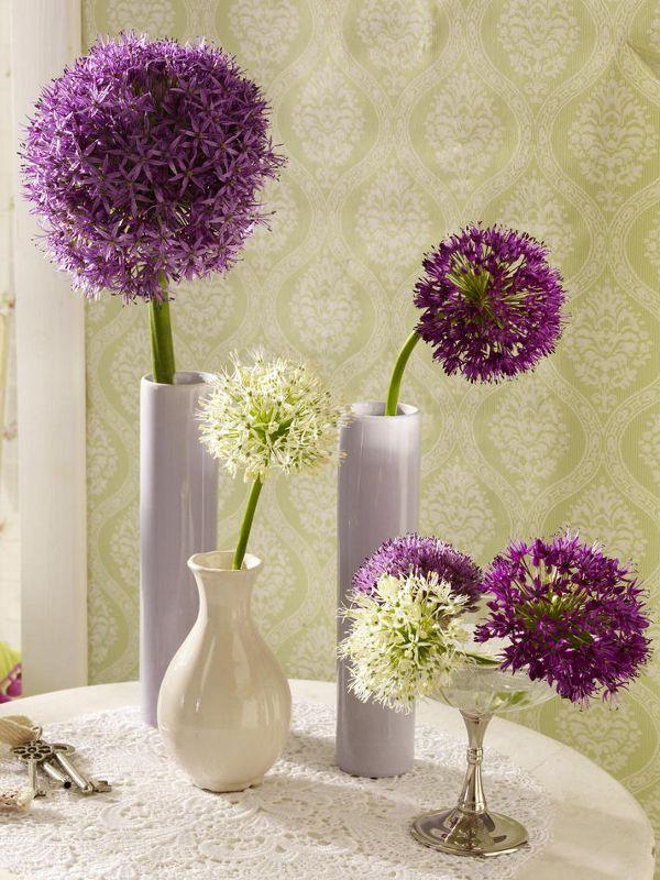 Deko Blumen blumen dekoration mit einzelblüten