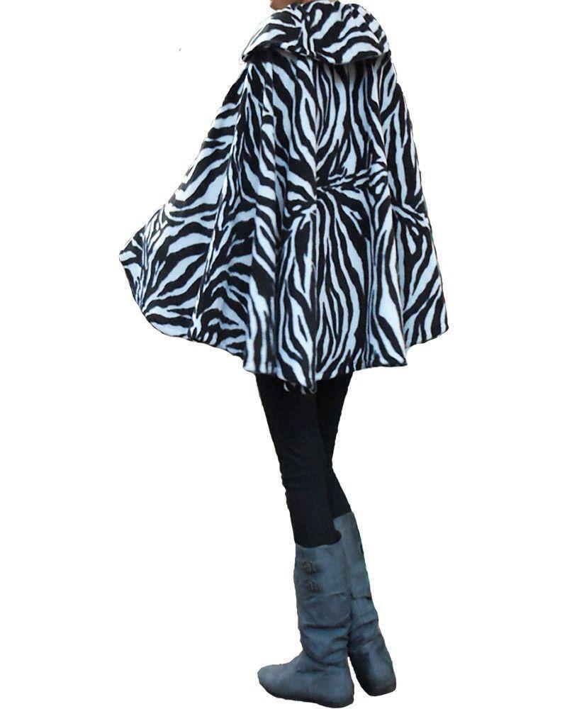 Zebra print Cape