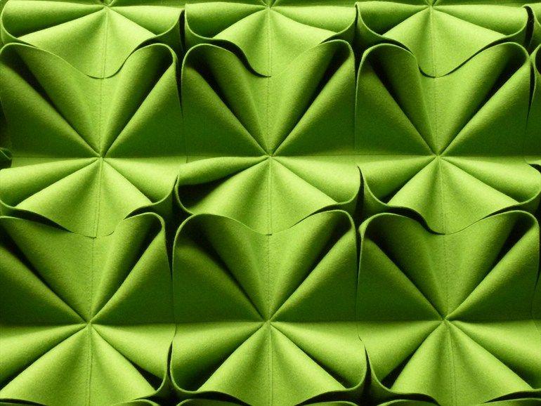 rev tement mural acoustique absorbant en feutre de laine design by anne kyyr quinn deco. Black Bedroom Furniture Sets. Home Design Ideas