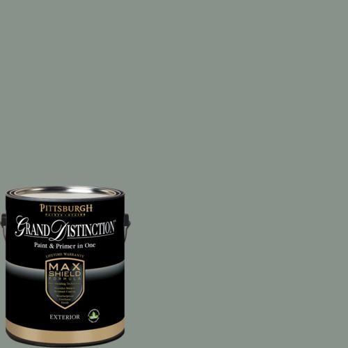 Pittsburgh Grand Distinction Gray Heron Exterior Latex Paint 1 Gal