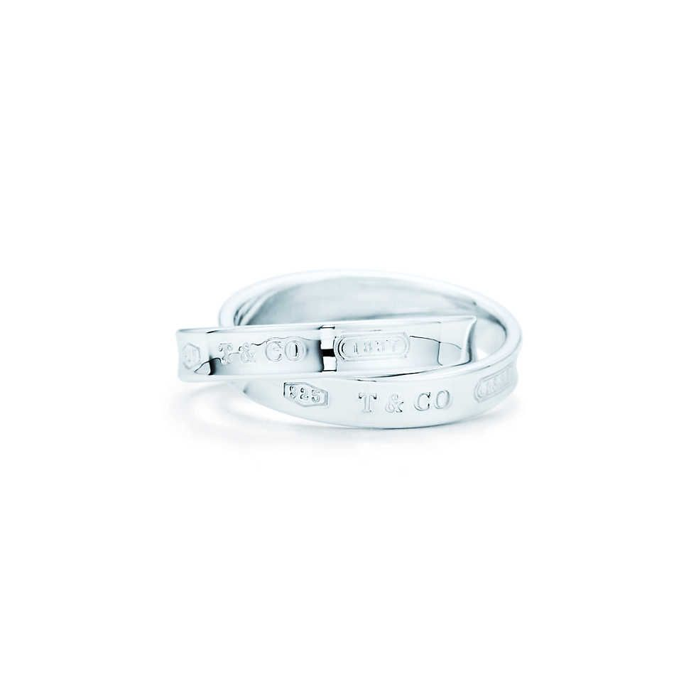 Tiffany 1837™ interlocking circles ring in sterling silver.