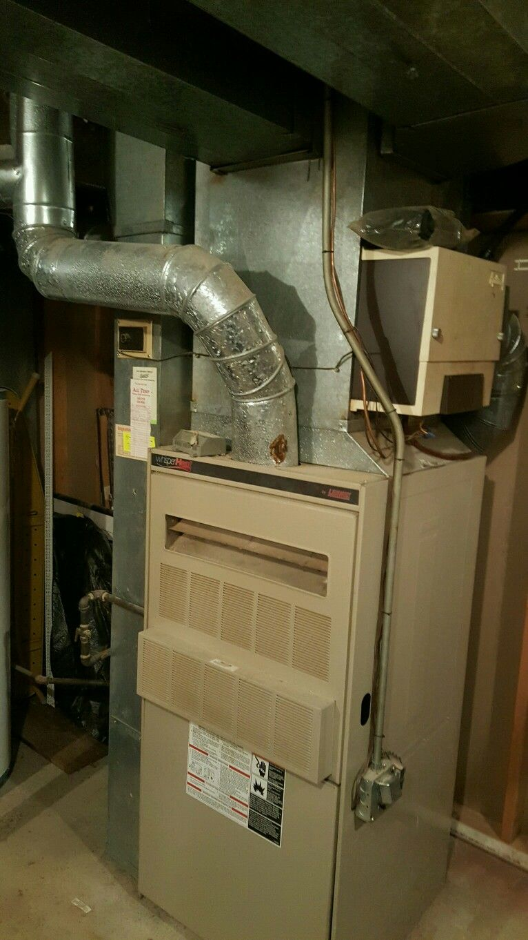 20 Year Old Gas Guzzler Making Way For A High Efficiency Furnace