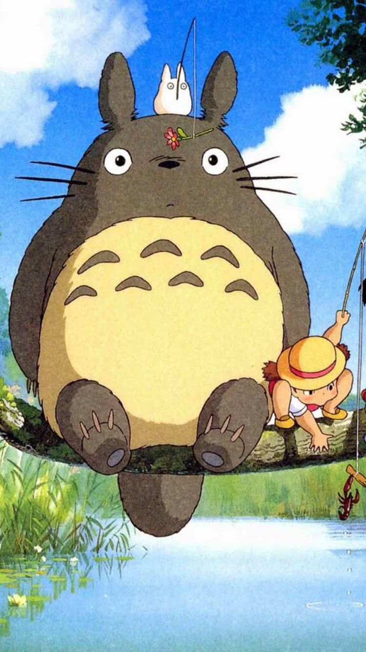 Wallpapers Hd Live Android Totoro art, Anime wallpaper
