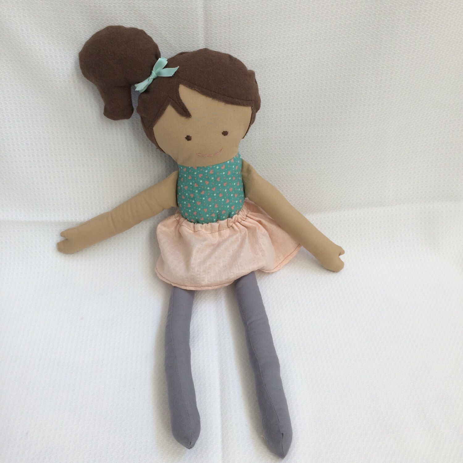So cute!! My little girl would love this! And so inexpensive for a handmade doll