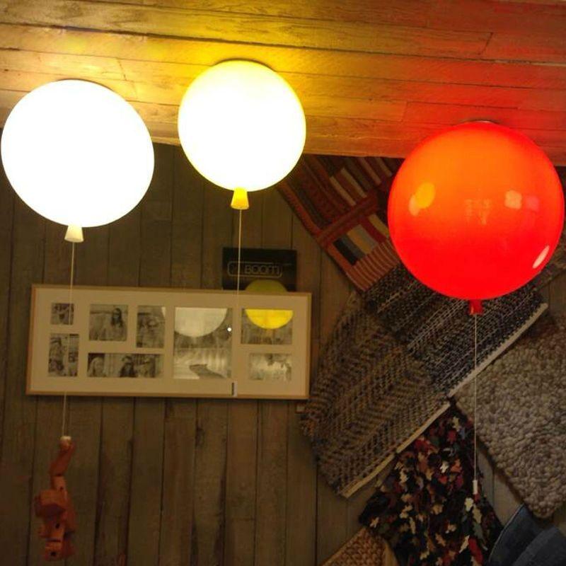 Nouveaute Couleur Ballon Plafonniers Moderne Style Restaurant Un Salon Lumiere Enfants Chambre Lampe Lam Luminaire Plafond Plafonnier Moderne Plafond De Ballon