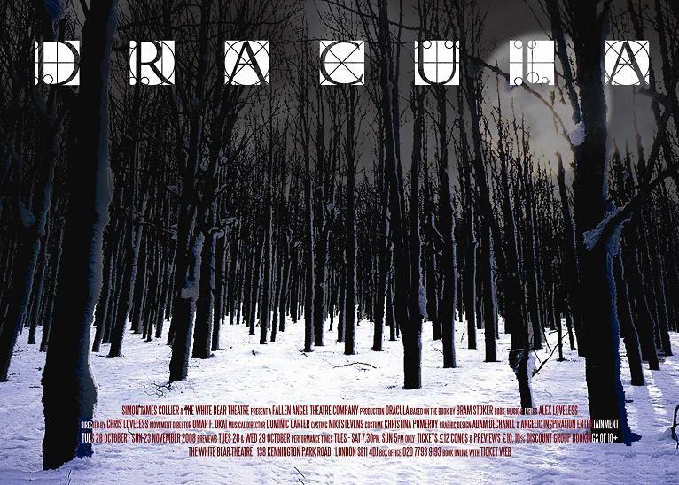 Dracula, White Bear Theatre, London