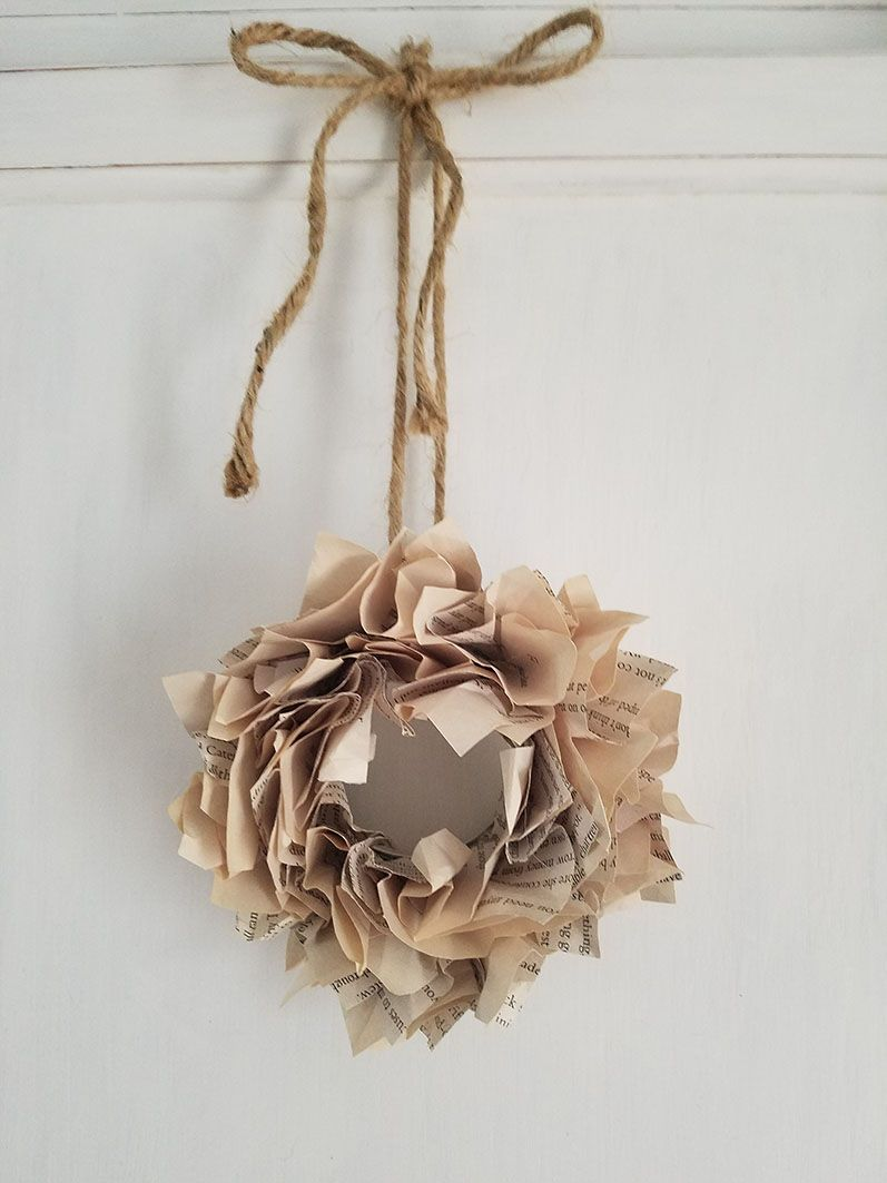 diy-mini-book-page-wreath-how-to