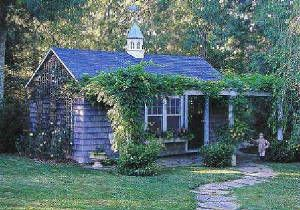 Zoe Outdoors Inc Garden Cottage Shed Landscape Turf Grass