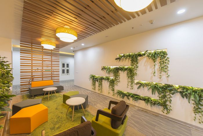 Office Tour Riverbed Technology Offices \u2013 Bangalore Coworking - innovatives interieur design microsoft