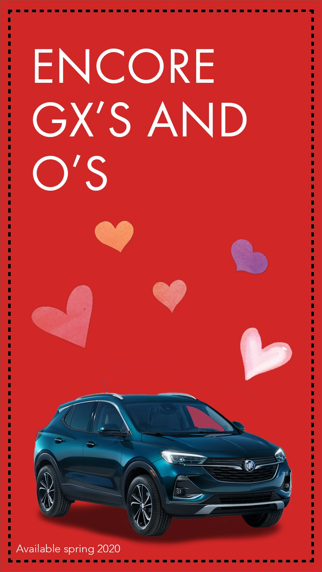 Buick Encore Gx Will Have You Loving Every Mile Of Your Valentine S Day Travels Valentinescards In 2020 Small Suv Buick Encore Buick