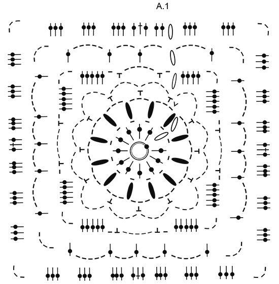 Winter Crystal / DROPS 171-53 - Patrones de ganchillo gratis de ...