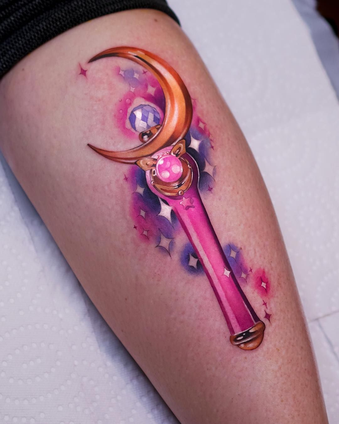 Photo of 34 magnifiques tatouages Sailor Moon que vous voulez coller au nom de la lune
