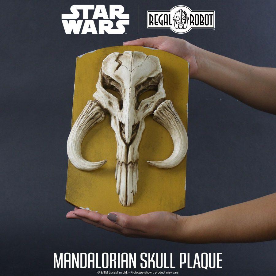 Mandalorian skull plaque mandalorian skull mandalorian