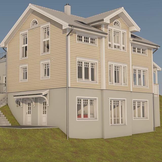 Ein neues Projekt in Sachseln nimmt Gestalt an. #amerikanischeshaus #Schwedenhaus #newenglandstyle #Architektur #Haus