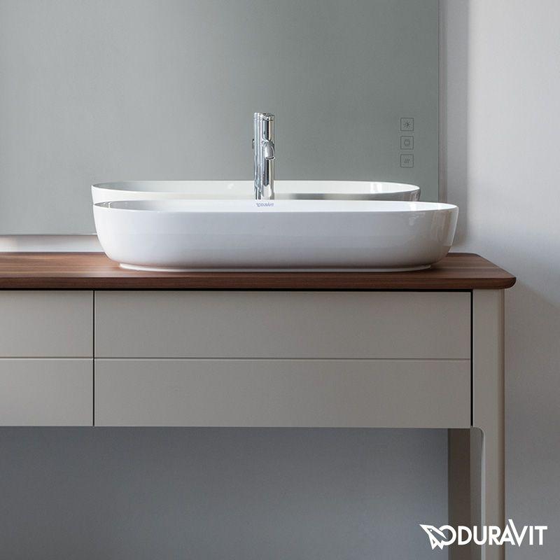 Duravit Luv Aufsatzwaschtisch Weiss Duravit Duravit Sink Vanity