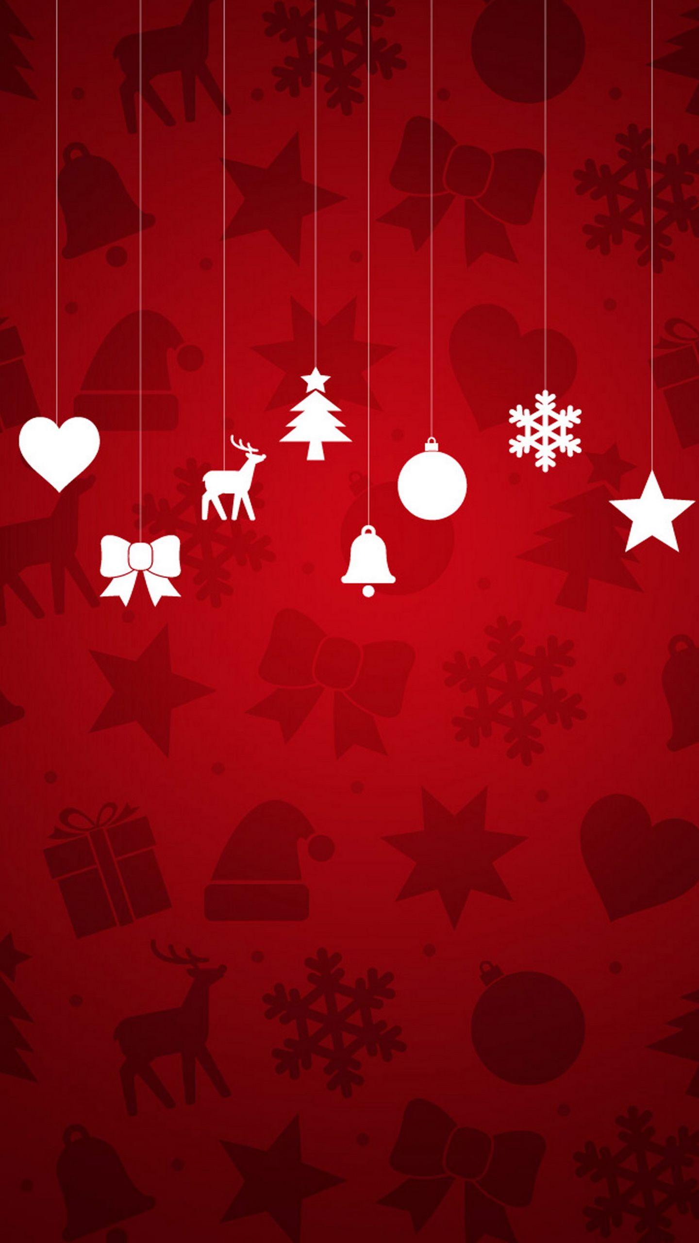 Samsung Galaxy Wallpaper Christmas Minimal Christmas