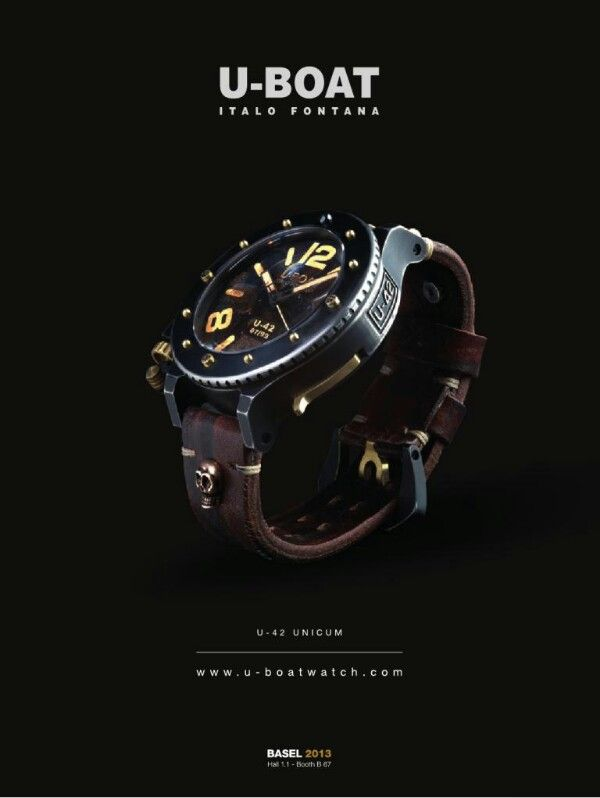 #U-Boat watches, #baselworld 2013