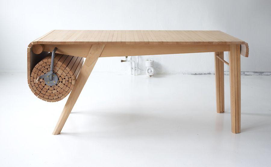 Smart Retractable Table Chaise Salle A Manger Design De Table