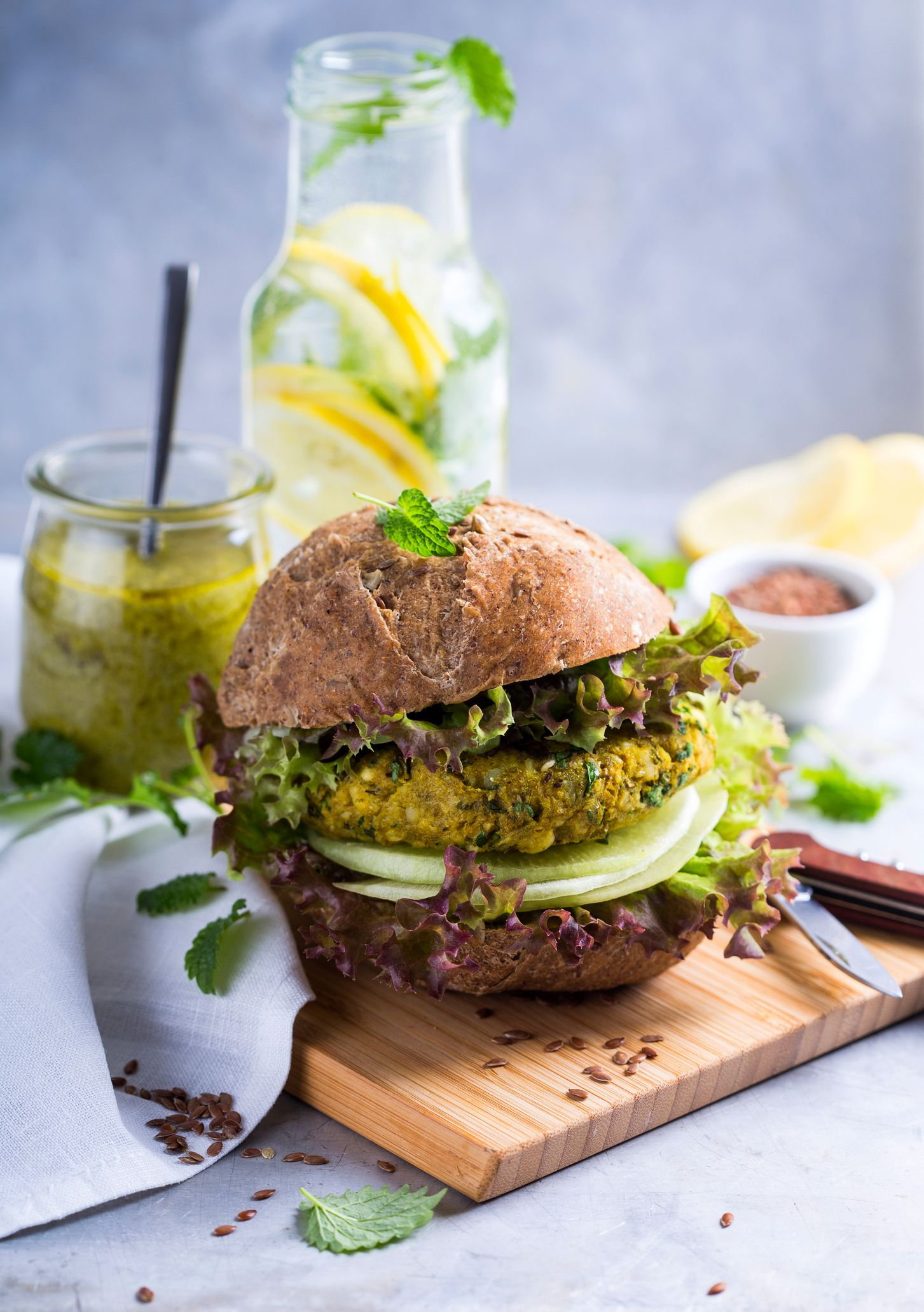 Veggie burgers are trendy! Try them @ AccorHotels ;) #Food #Burger