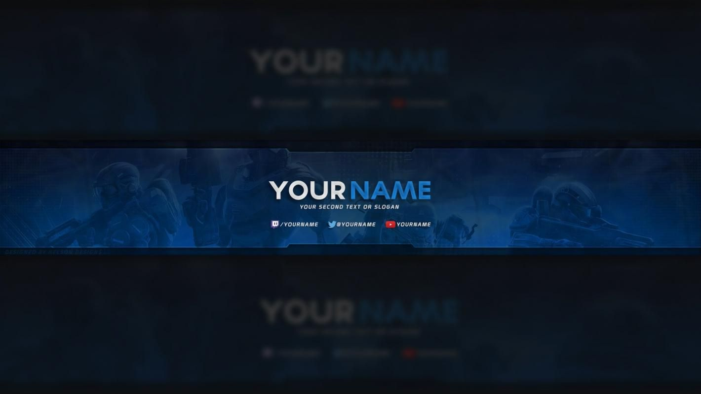 Free Youtube Banner Youtube Banner Template Banner Template Photoshop Youtube Banner Backgrounds