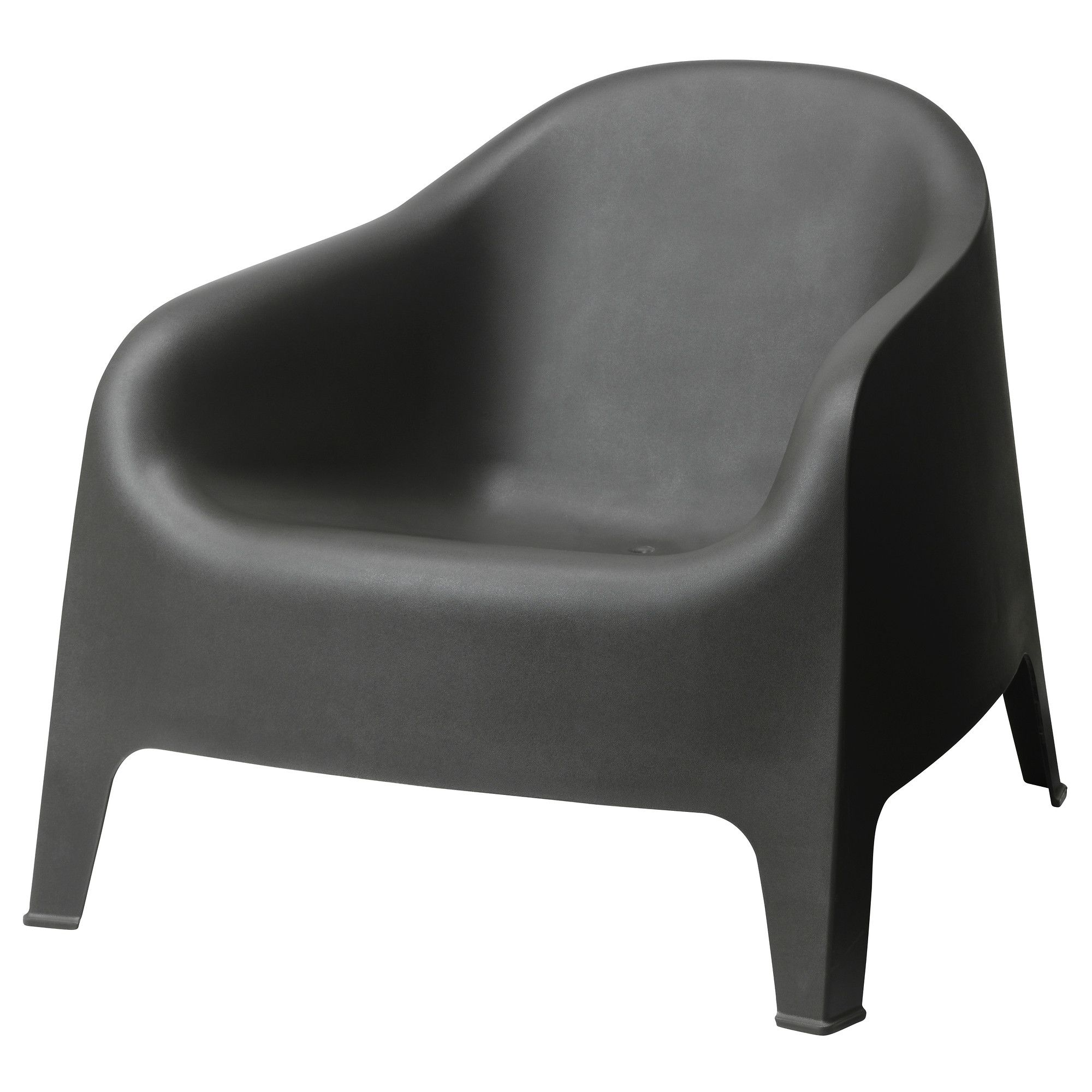 black furniture ikea. IKEA SKARP Armchair Outdoor Gray The Drain Hole In Black Furniture Ikea