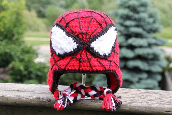 Handmade Superhero Crochet Hat | crochet | Pinterest | Häkeln