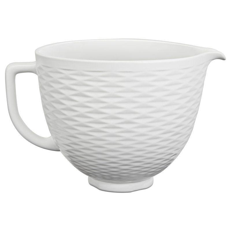 Kitchenaid 5 qt ceramic bowl ceramic mixing bowls