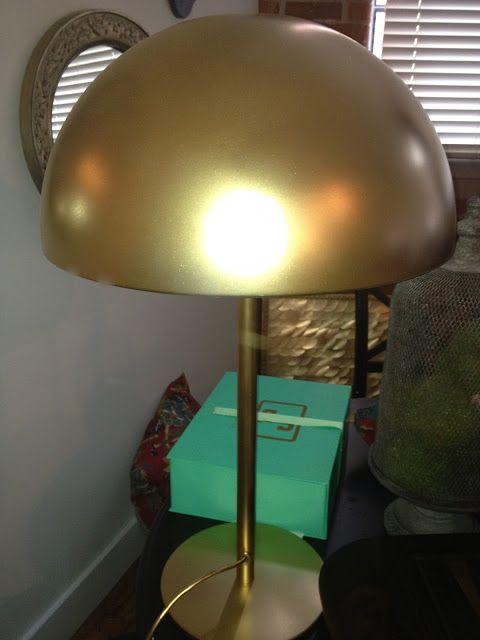 Ikea The Dome Brasa Table Lamp, Rose Gold Table Lamp Ikea