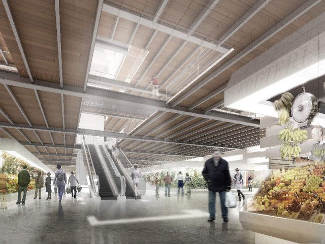 Amp arquitectos concurso mercado de la laguna hic for Bauhaus oficinas centrales