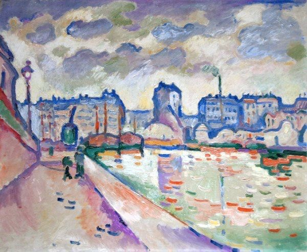 Georges Braque -The Saint-Martin Canal,1906