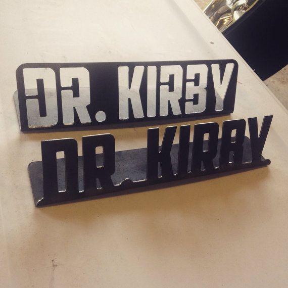 Custom Desk Plate Name Plate Teacher Doctor Office by