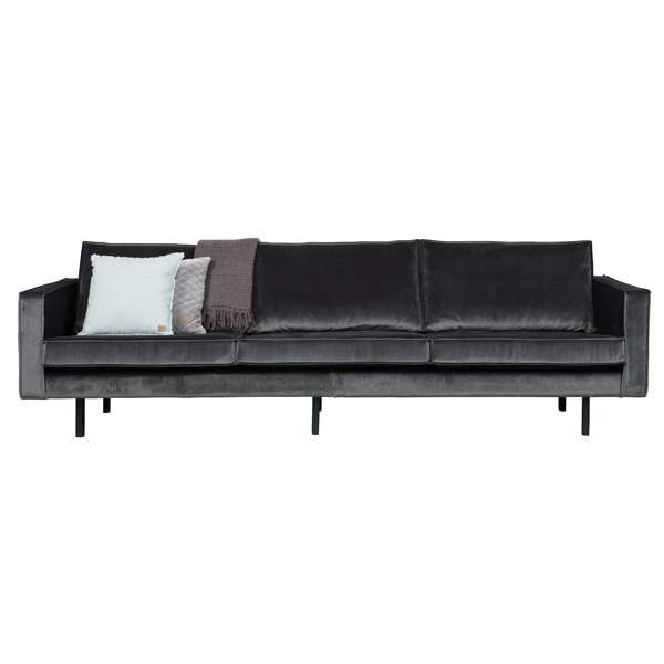 3 sitzer sofa rodeo samt grau lounge couch garnitur loungesofa dreisitzer in 2019 sofa co. Black Bedroom Furniture Sets. Home Design Ideas