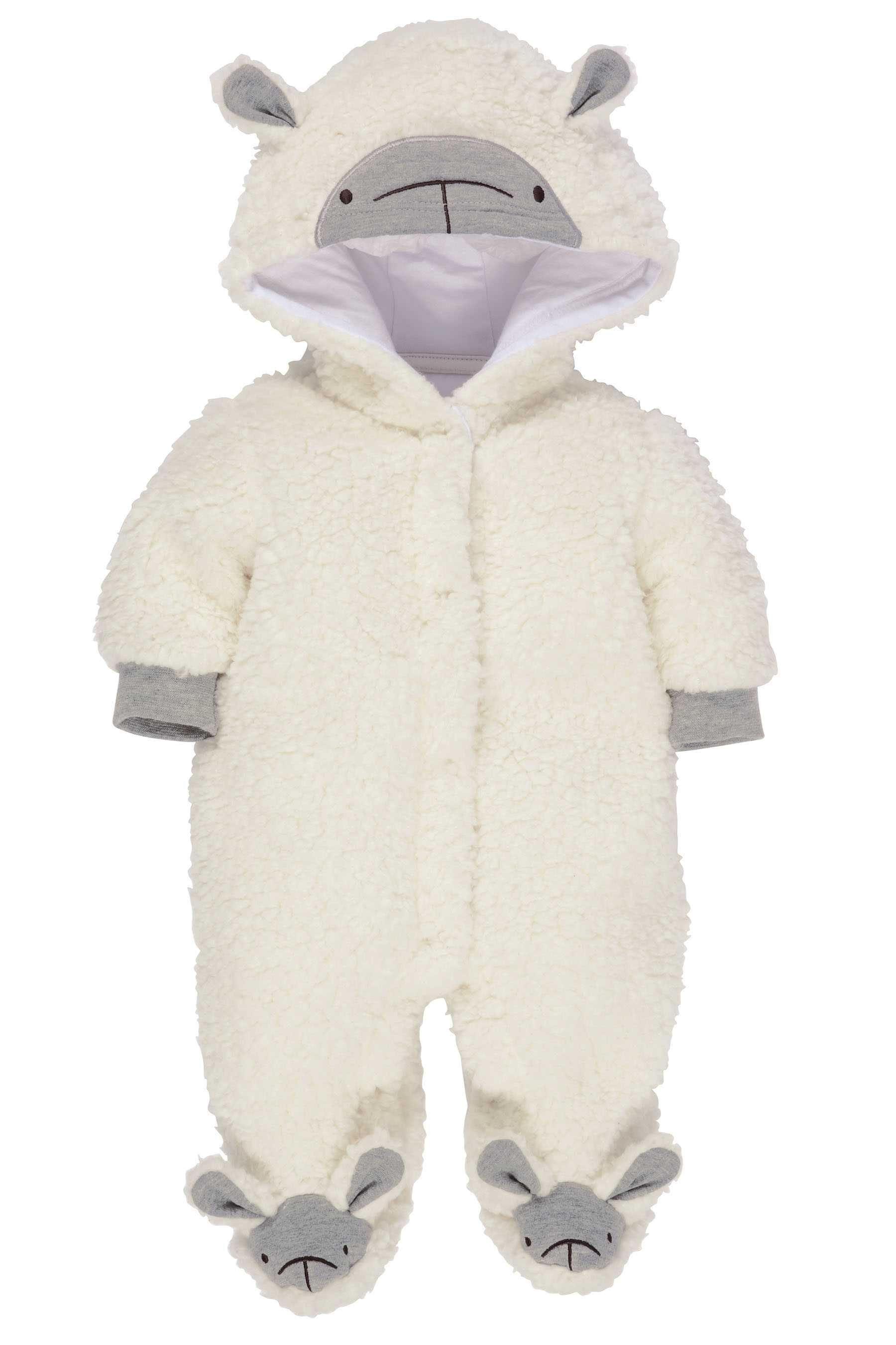 cb2b1657a Buy White Sheep Pramsuit (0-12mths) from the Next UK online shop ...