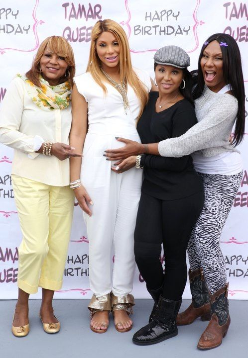 a very pregnant tamar braxton celebrities tamar