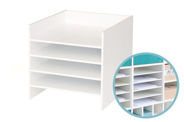 papier fach einsatz f r ikea kallax regal wei ikea kallax ikea expedit and room ideas. Black Bedroom Furniture Sets. Home Design Ideas