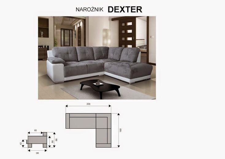Komplet Wypoczynkowy 3 2 Dexter Kanapa Sofa 4718025174 Oficjalne Archiwum Allegro Sofa Sectional Couch Furniture