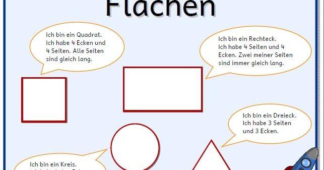 Grundschule Material kostenlos Arbeitsblätter geometria Pinterest