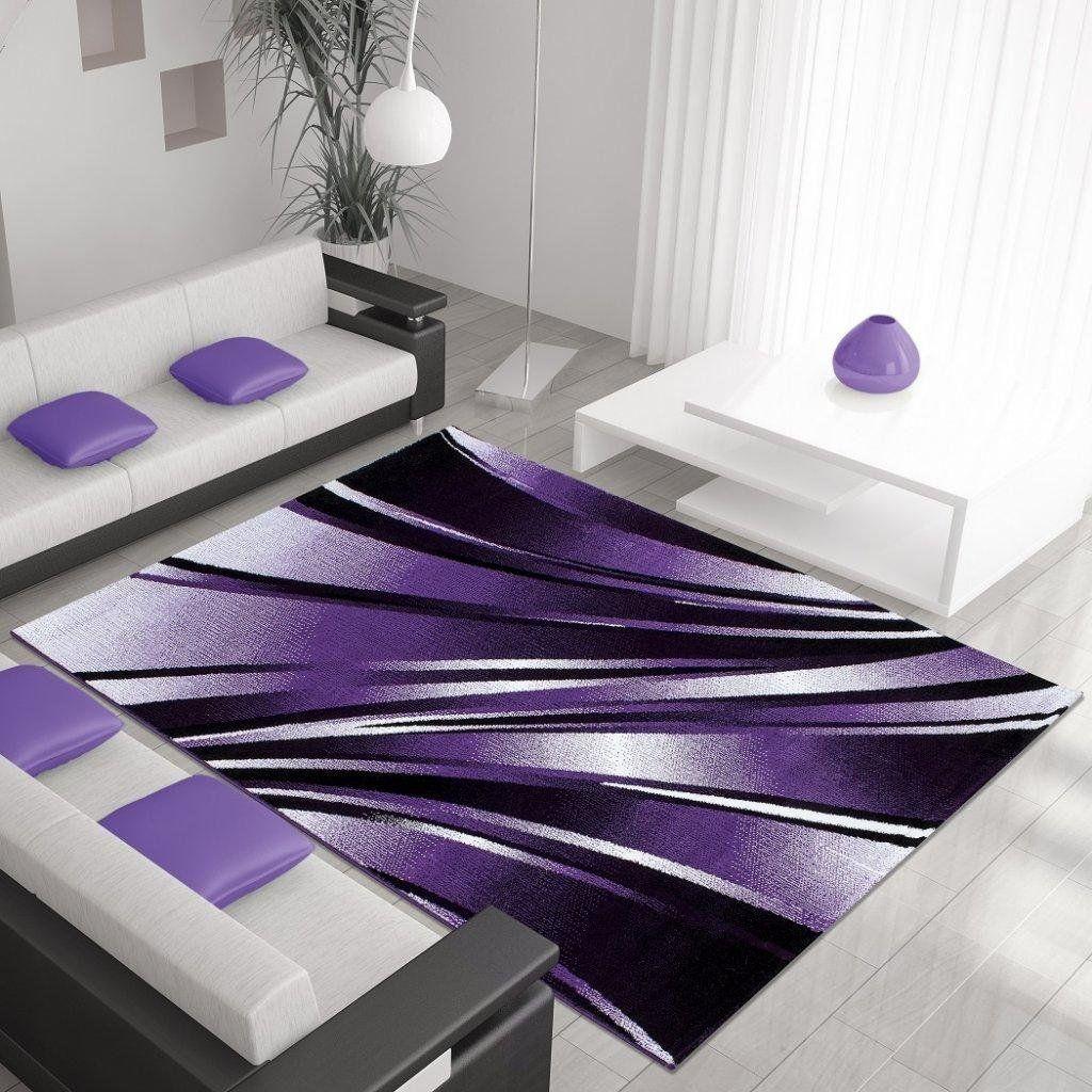 Progettista moderno tappeto PARMA 120 X 170 LILA Amazon