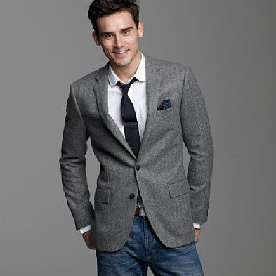 8b8e49bebbe I love the look of a sport coat with jeans