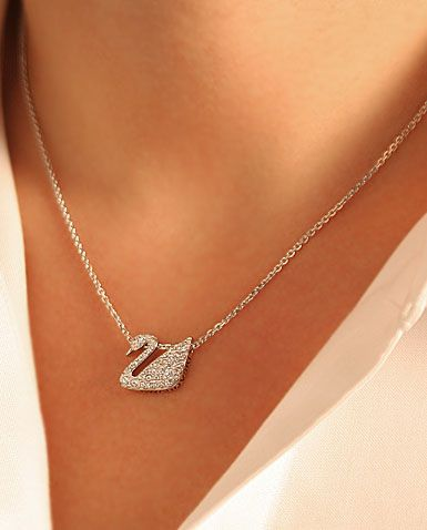 e0cab6c813272 Pin by Nehal Helaly on Accessories in 2019 | Swan jewelry, Swan ...