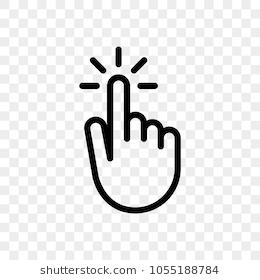Click Finger Hand Press Or Push Vector Icon Youtube Logo Youtube Channel Art Cartoon Clip Art Make your own hand png and use it in your own creativity in this video i will show you how to creat a hand png. click finger hand press or push vector