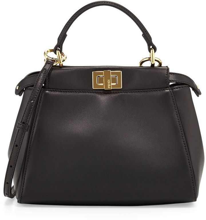 Fendi Peekaboo Mini Satchel Bag   Chic! Handbag Addict.   Pinterest 224ca6a0921