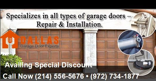 Repair Your Garagedoor This New Year Availing Special Discount
