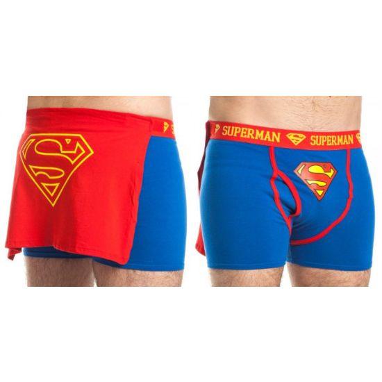 Superman Caped Boxer Briefs  Cool Underwear  Superman -9947
