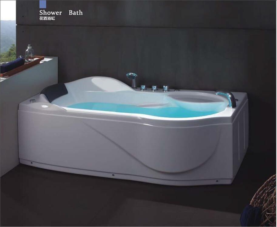 Buy 67\' Left Or Right Head Rest Putting Whirlpool Bathtub Acrylic ...