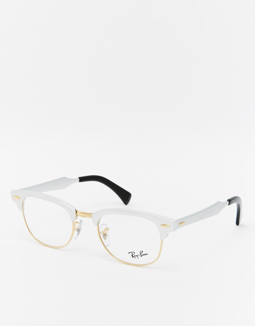 Image 1 of Ray-ban Clubmaster Glasses   Fashion   Glasses, Ray bans ... c47ee08a7776