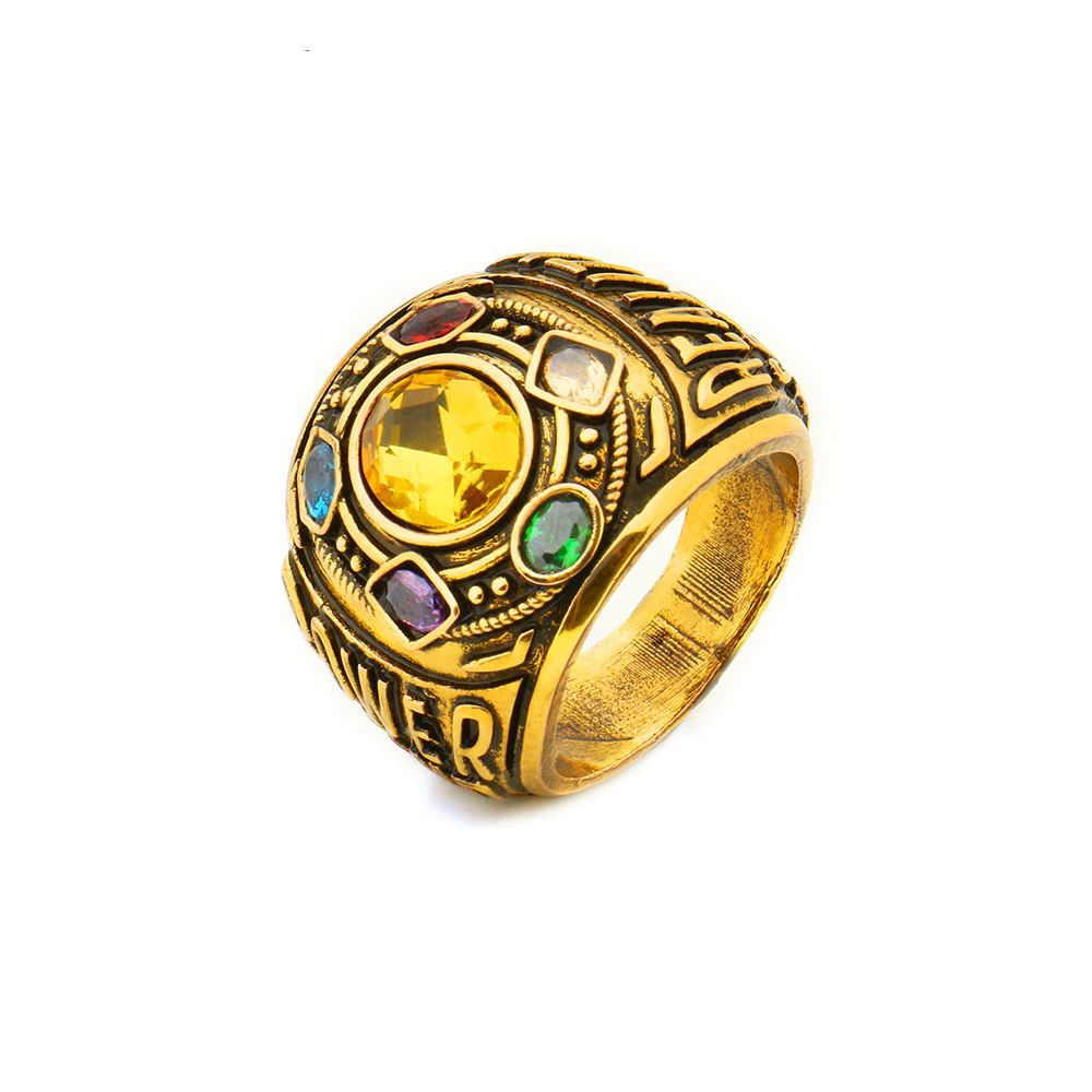 5c6b715ab035f Thanos Infinity Ring in 2019 | Mythical creatures | Rings, Infinity ...