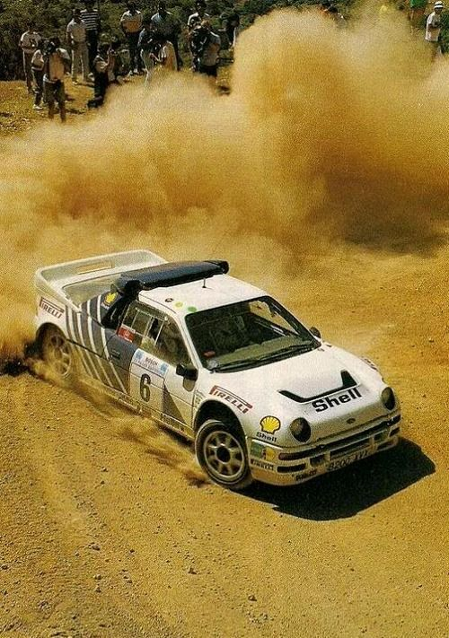 Ford Rs200 Rally Car Group B Rally Car Rally Racing Ford Classic Cars