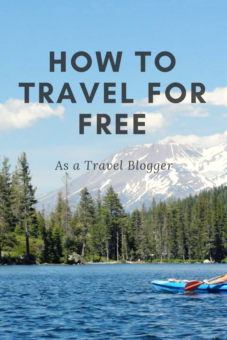 How to Travel for Free as a Travel Blogger  Travel, Free travel, Travel tips